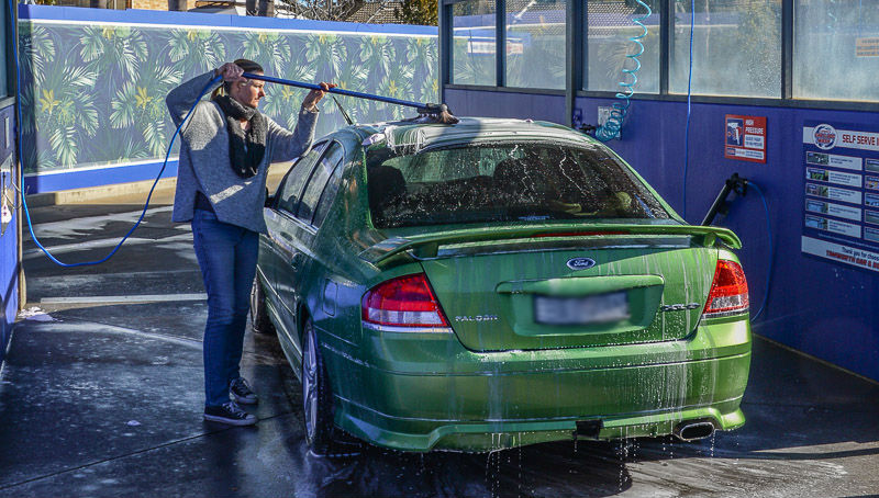 SELF SERVE CAR WASH